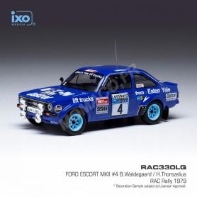 FORD ESCORT MKII 4 WALDEGAARD/THORSZELIUS RALLYE RAC 1979
