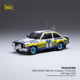 FORD ESCORT MKII 6 VATANEN/RICHARDS RALLYE RAC 1979