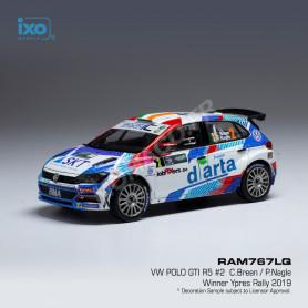 VOLKSWAGEN POLO GTI R5 2 BREEN/NAGLE RALLYE YPRES 2019
