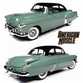 OLDSMOBILE 88 HOLIDAY COUPE 1950 VERT/NOIRE