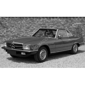 MERCEDES-BENZ 280 SL (R107) 1979 ROUGE