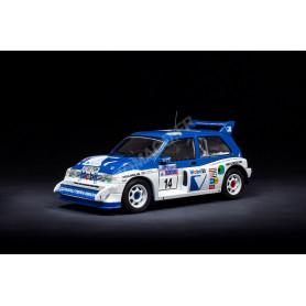 MG METRO 6R4 14 LLEWELLIN/SHORT RALLYE RAC 1986