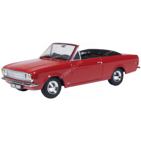 FORD CORTINA CRAYFORD CONVERTIBLE ROUGE