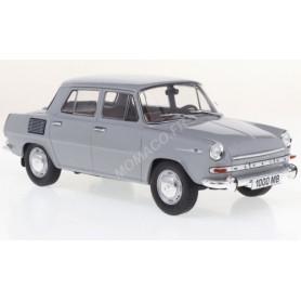 SKODA 1000 MB 1965 GRIS/BLANC