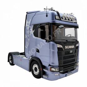 SCANIA V8 730S BLEUE AVEC DECO