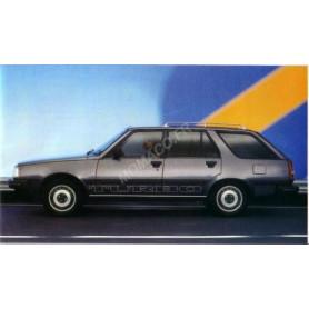 RENAULT 18 BREAK TURBO D TYPE 2 1985
