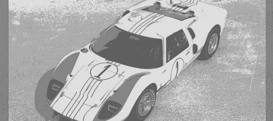 ACME 1201003 : FORD GT 40 MKII LE MANS 1966