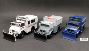 Mercedes-Benz Unimog 406 - Law enforcement